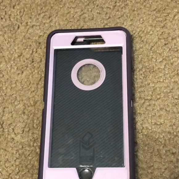 pretty nice 8aee8 66ea4 Used purple Otterbox case, slightly broken